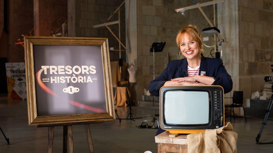 Carolina Ferre presentarà el nou programa dels dissabtes a la nit 'Tresors amb història'