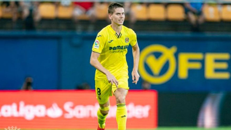 El jugador del Vila-real, Juan Foyth