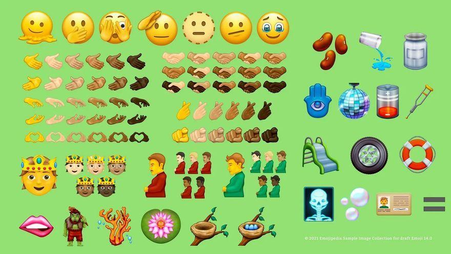 Nova col·lecció d'emojis 2021