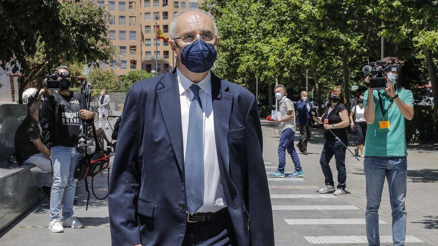 L'exconseller de Solidaritat Rafael Blasco en una visita recent a la Ciutat de la Justícia de València