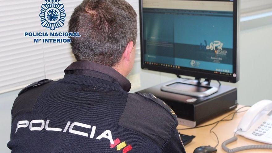 Un policia, en una imatge d'arxiu