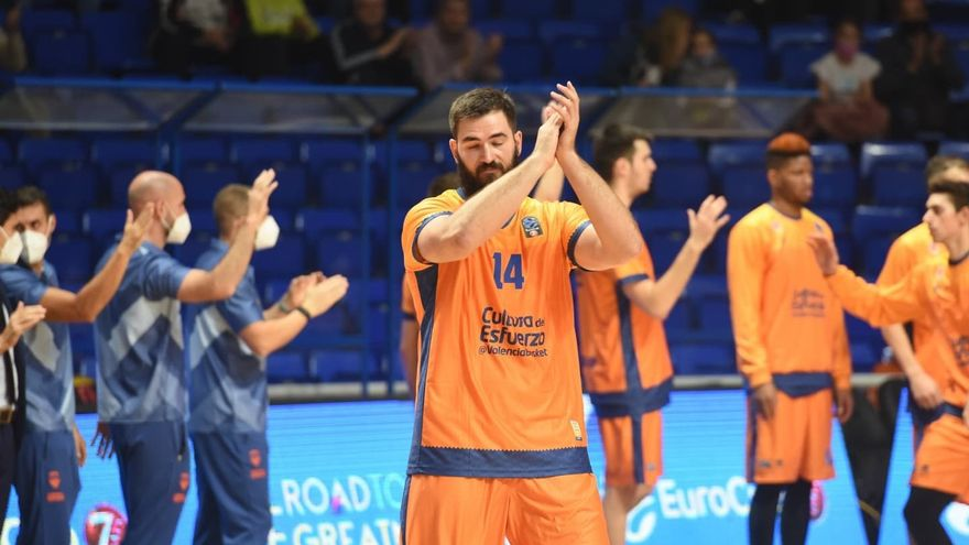 Dubljevic rep l'ovació de la que va ser la seua afició
