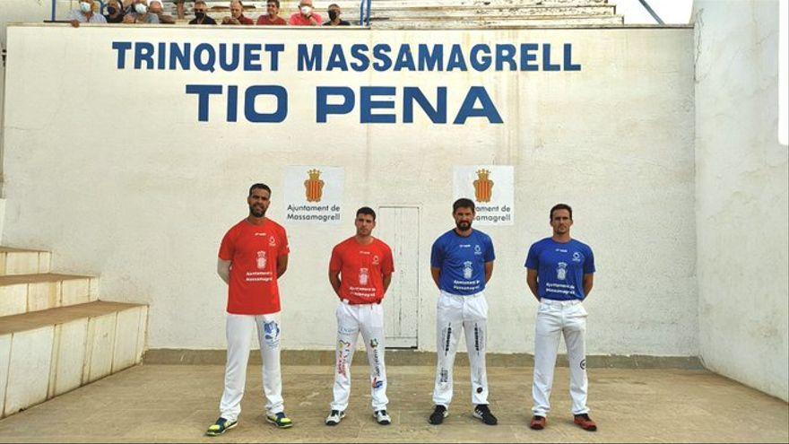 Cartell de la segona semifinal del XXXI Trofeu Tio Pena de Massamagrell