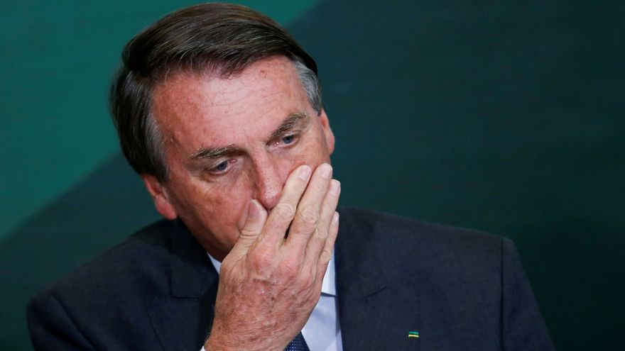 Imatge d'arxiu del president del Brasil, Jair Bolsonaro