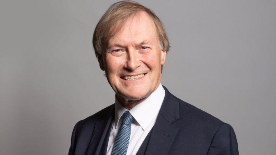 Imatge d'arxiu del diputat conservador del Parlament britànic, David Amess, apunyalat aquest divendres