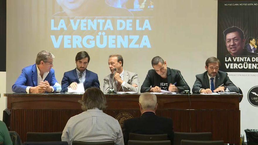 Roda de premsa de Llibertat VCF