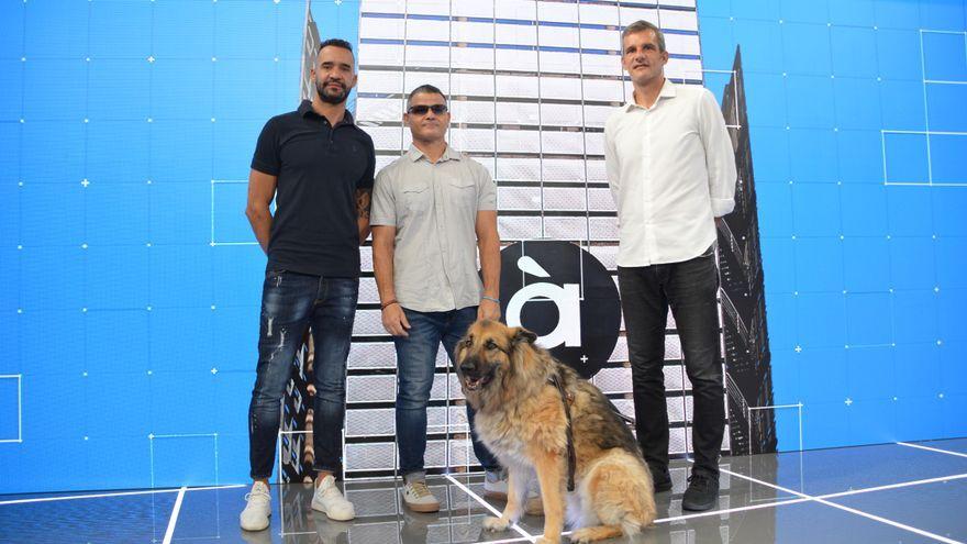 Juanfran García, David Casinos i Natxo Rodilla amb els esports d'À Punt